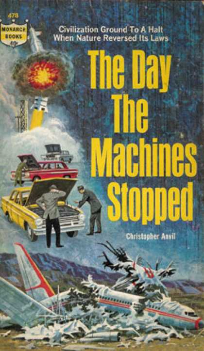 Monarch Books - The day that machines stopped - Christopher Anvil