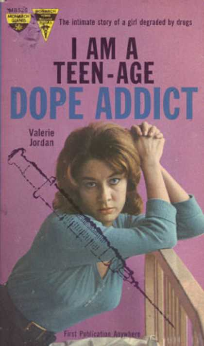 Monarch Books - I Am a Teen-age Dope Addict