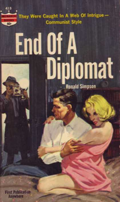 Monarch Books - End of a Diplomat