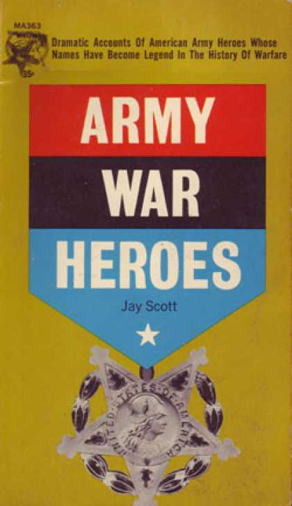Monarch Books - Army War Heroes