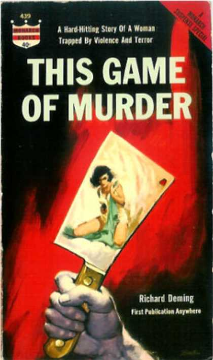 Monarch Books - This Game of Murder - Richard Deming