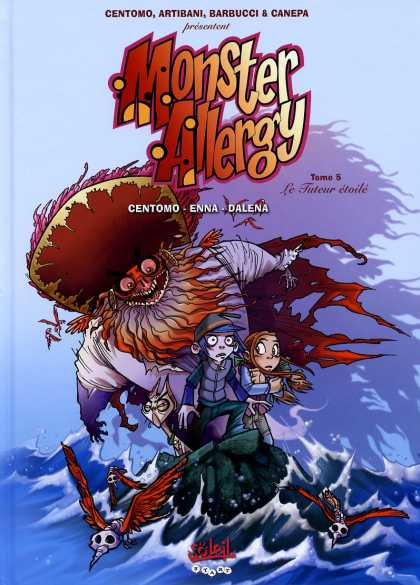 Monster Allergy 2 - Monster - Demonic Birds - Kids - Ocean - Boat