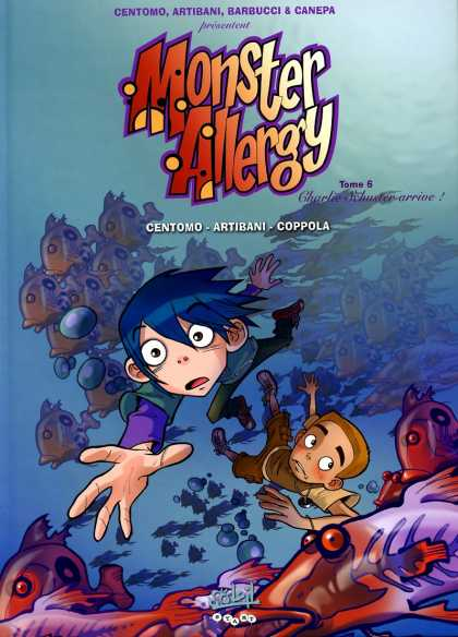 Monster Allergy 3 - Boys - Blue - Fishes - Ocean - Swim