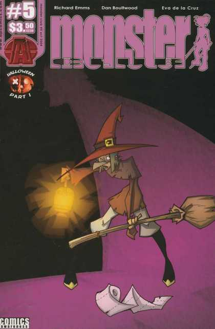 Monster Club 5 - Halloween - Pointy Hat - Lantern - Witch - Toilet Paper