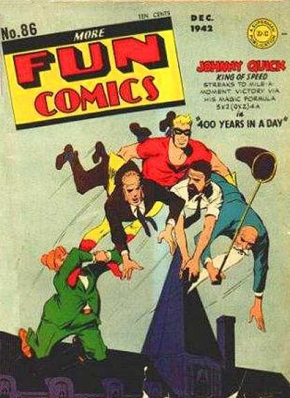 More Fun Comics 86 - Johny Quick - King Of Speed - Fun In Flying - Flying Game - Powerfull Flyer