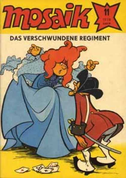 Mosaik 248 - Mosaik - German Comic - Das Verschwundene Regiment - Playing Cards - Dress