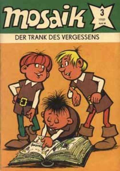 Mosaik 276 - Der Trank Des Vergessens - Book Reading - Talking - Commenting - Yellow Hair