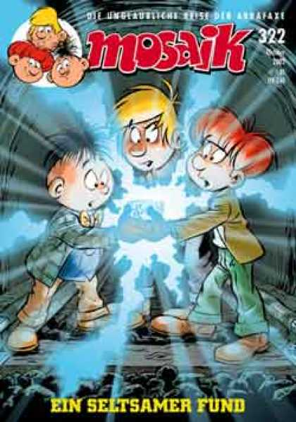 Mosaik 535 - Mosaik - Boys - Glow - Rocks - Redhair