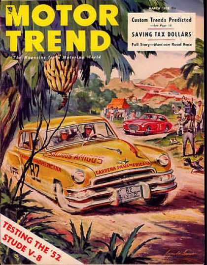 Motor Trend - March 1952