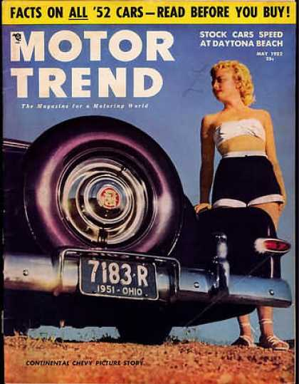 Motor Trend - May 1952