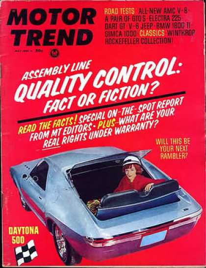 Motor Trend - May 1966