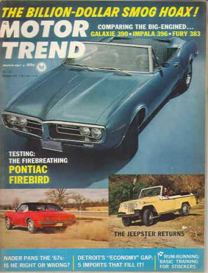 Motor Trend - March 1967