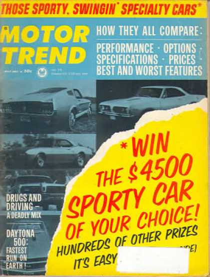Motor Trend - May 1967