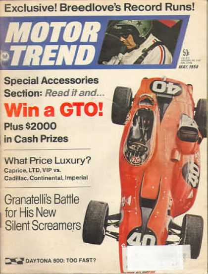 Motor Trend - May 1968
