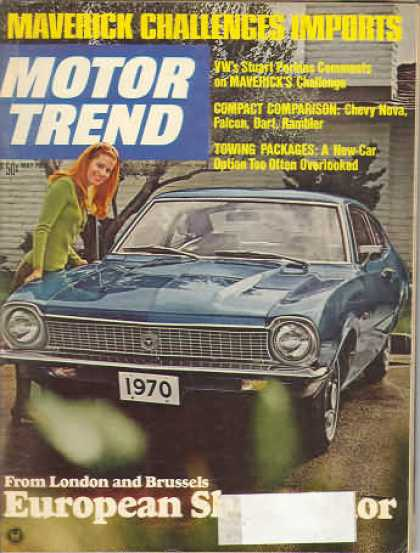 Motor Trend - May 1969