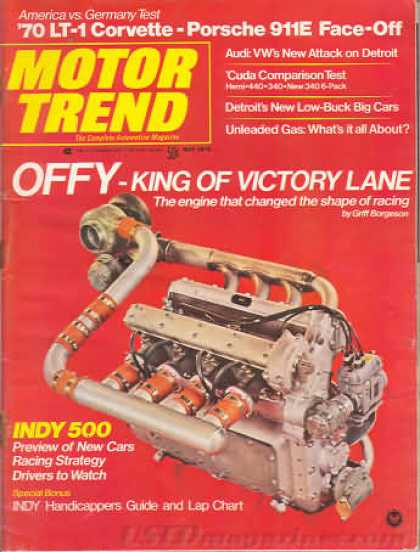 Motor Trend - May 1970