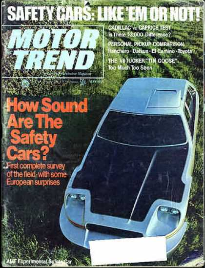 Motor Trend - May 1971