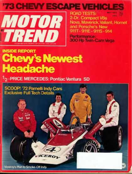 Motor Trend - May 1972