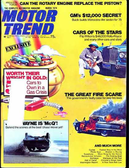 Motor Trend - March 1974