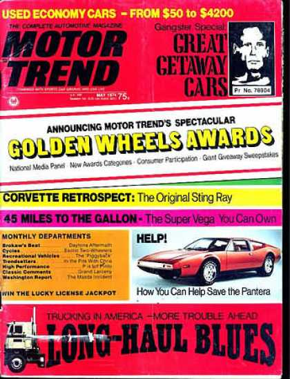 Motor Trend - May 1974