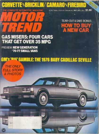 Motor Trend - May 1975
