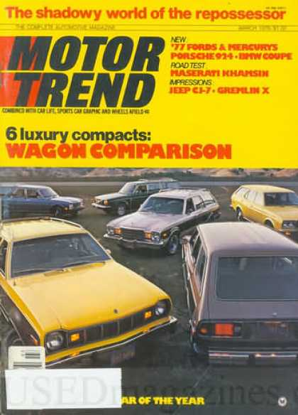 Motor Trend - March 1976