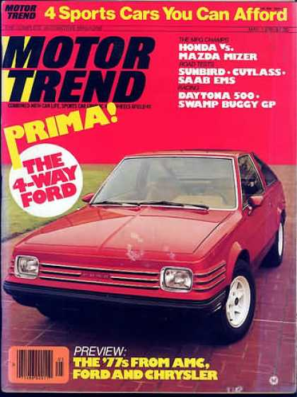 Motor Trend - May 1976