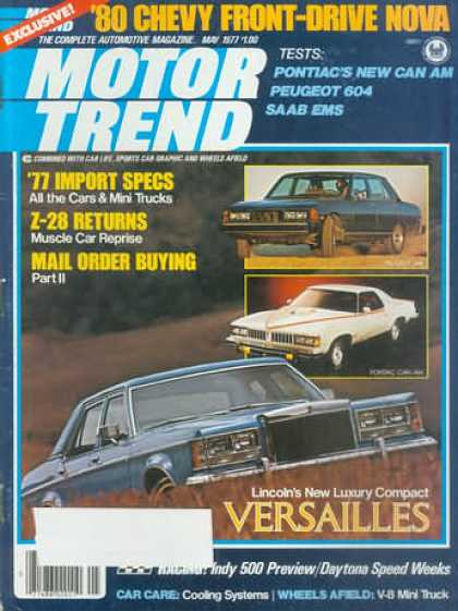 Motor Trend - May 1977