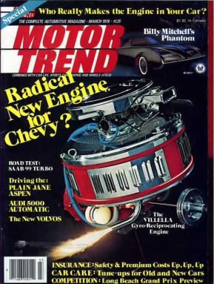 Motor Trend - March 1978