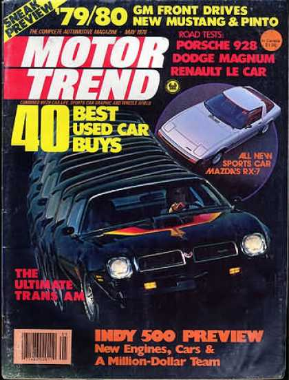 Motor Trend - May 1978