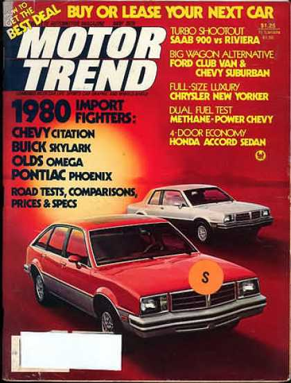 Motor Trend - May 1979