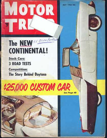 Motor Trend - May 1955