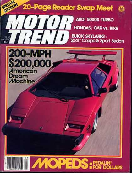 Motor Trend - May 1980