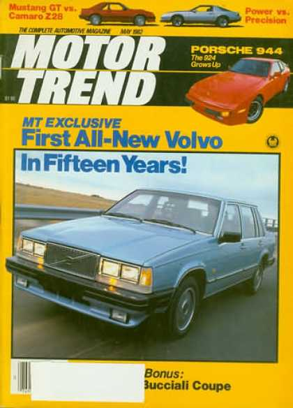 Motor Trend - May 1982