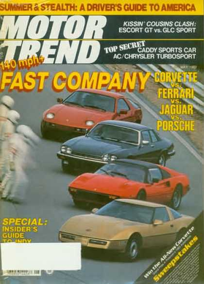Motor Trend - May 1983