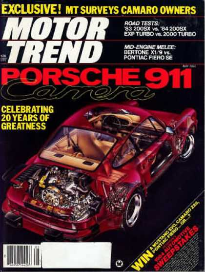 Motor Trend - May 1984