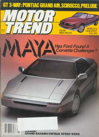 Motor Trend - May 1985