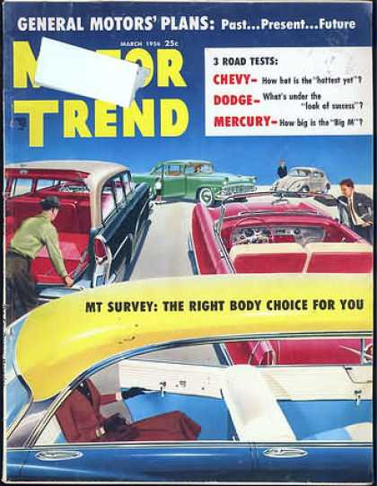 Motor Trend - March 1956
