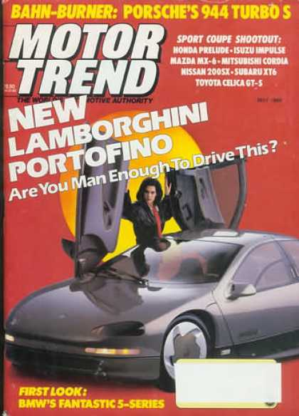Motor Trend - May 1988
