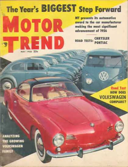 Motor Trend - May 1956