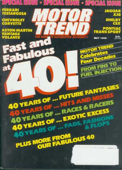 Motor Trend - May 1989