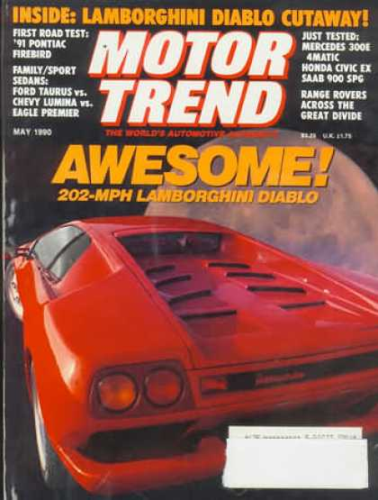 Motor Trend - May 1990