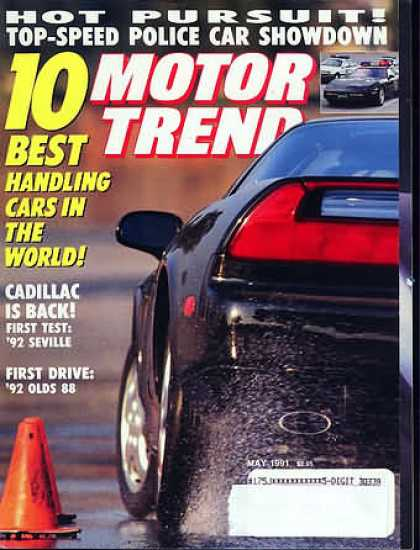 Motor Trend - May 1991