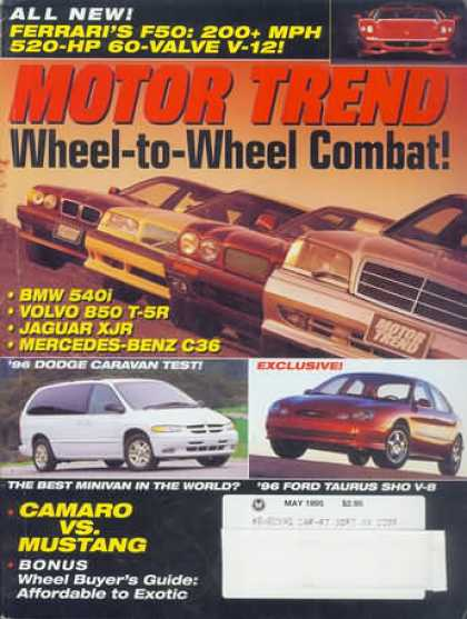 Motor Trend - May 1995
