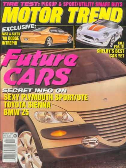 Motor Trend - March 1997