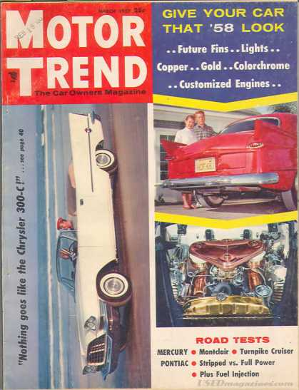 Motor Trend - March 1957