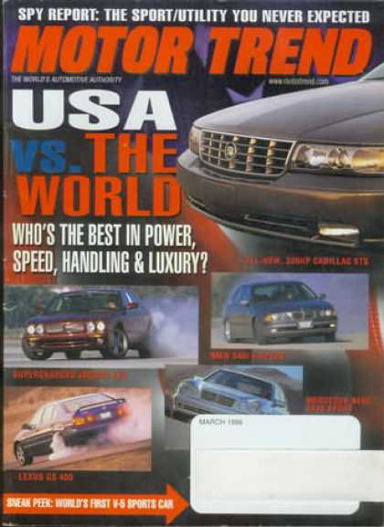 Motor Trend - March 1998