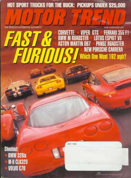 Motor Trend - May 1998
