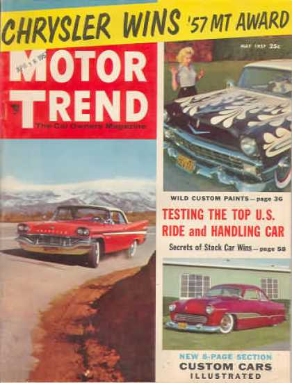 Motor Trend - May 1957