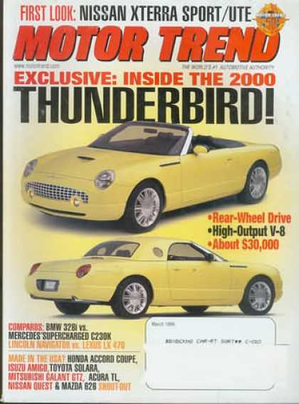 Motor Trend - March 1999